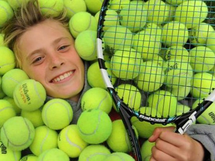 Kids Lessons (for Ages 4-18) 5-Week Introductory Program  *Free Loaner Rackets  $85 / $130 Value