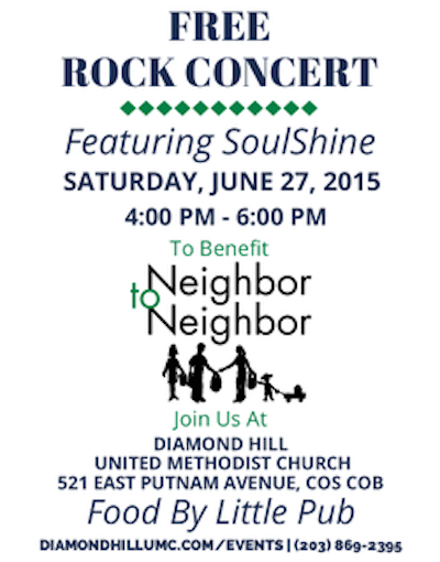 Rock Concert to Benefit Neighbor to Neighbor