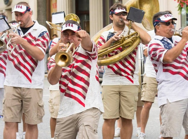 Parade Photo Gallery - Happy 375th Birthday Greenwich!