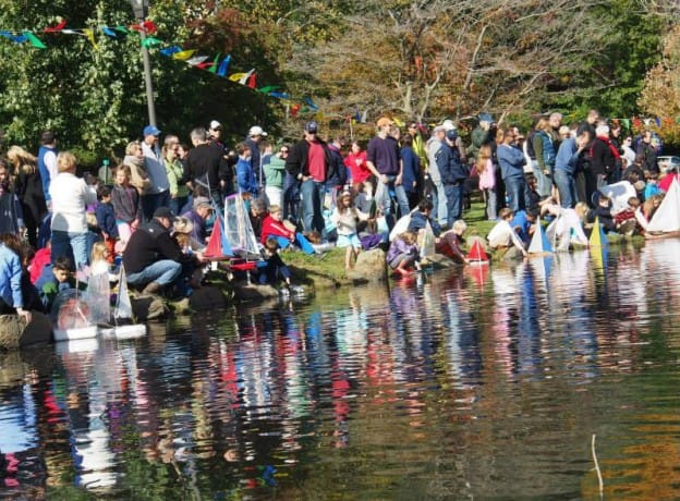 Sail Away at Binney Park -The Annual Model Toy Sailboat Regatta