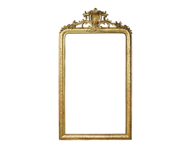 Antique Gold Mirror, $1,299.00 (Estimated Retail: $1800.00)