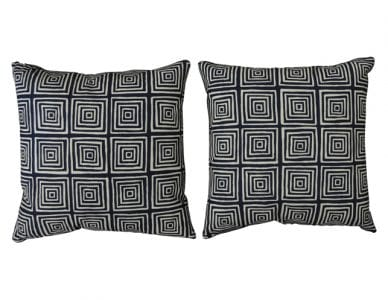 Quadrille Pillows Set of 2