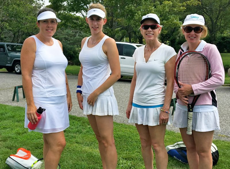 Did You See Who Won? Greenwich Town Tennis Tournament Finals at Binney Park