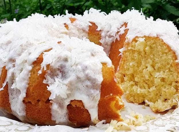 New England Innkeeper Recipe - Sweet Dreams Coconut Pound Cake
