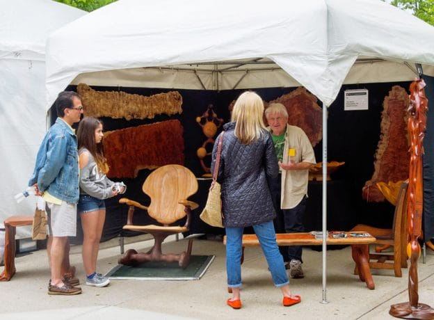 Photo Gallery:  Bruce Museum's 32nd Annual Outdoor Crafts Festival