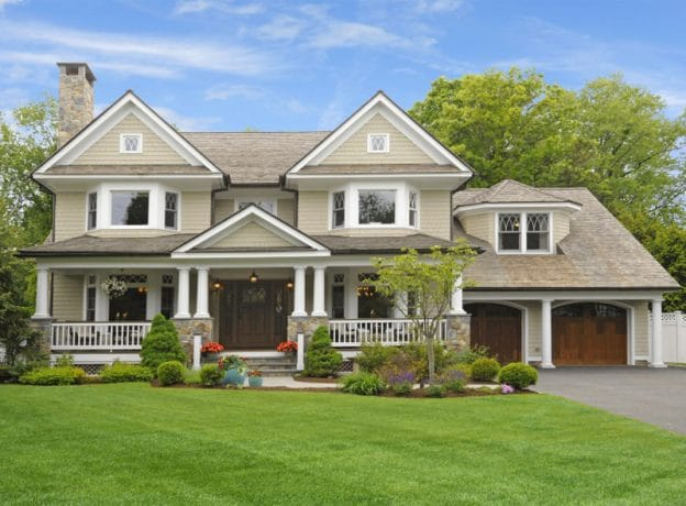 Greenwich Real Estate: Custom Built Shingle-Style Colonial in the Heart of Old Greenwich