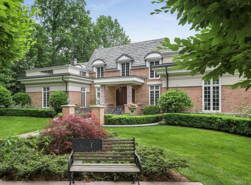 Greenwich Real Estate: French Style Architecture with Enchanting Lake Views