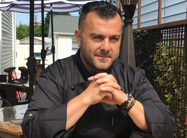 CONTEST WINNER + INTERVIEW: Stavros Karapides of Famous Greek Kitchen in Byram Honored as a 'Most Innovative Chef' at 2017 Greenwich Wine + Food Festival