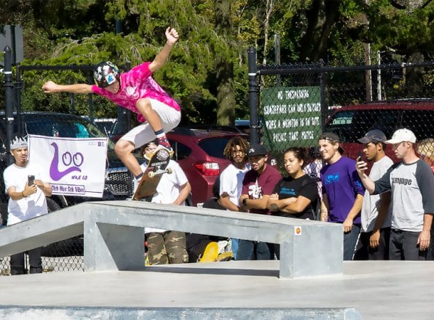 Photo Gallery: Greenwich Skate Park Grand Re-Opening