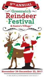 9th Annual Greenwich Reindeer Festival and Santa's Village