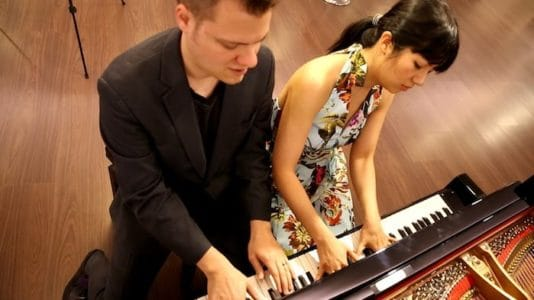 Wendy Tisch Memorial Concert - Anderson and Roe Piano Duo - Greenwich Library Cole Auditorium