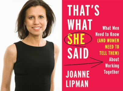 Author Talk at Greenwich Library - 'That's What She Said' by Joanne Lipman