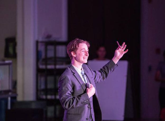 Making the Magic Happen in Greenwich - Magician Ben Zabin Performs for a Hometown Audience