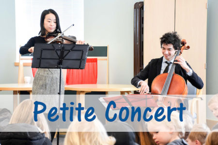Petite Concert at Greenwich Library