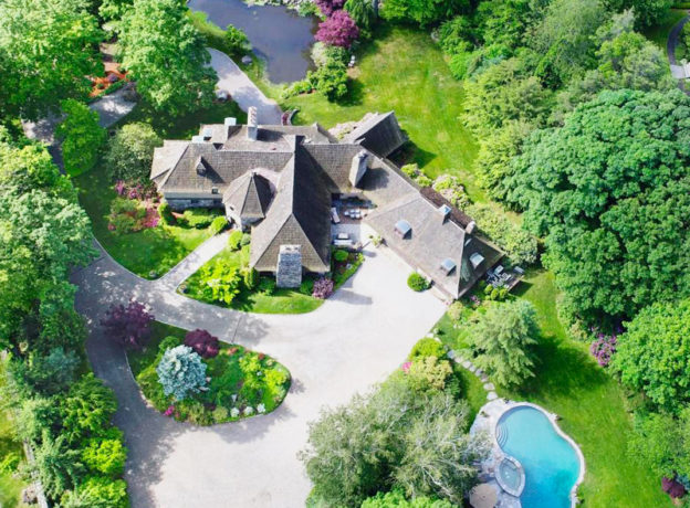 Real Estate: Custom Built Stone and Stucco French Country Home Just Minutes From Greenwich Ave