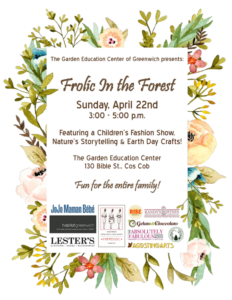Earth Day Celebration - Frolic in the Forest - Garden Education Center