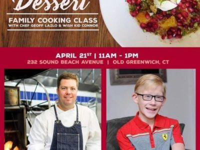 Family Cooking Class with Chef Geoff Lazlo for Make-a-Wish