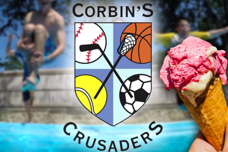 FREE ICE CREAM - Courtesy of Corbin's Crusaders Day Camp