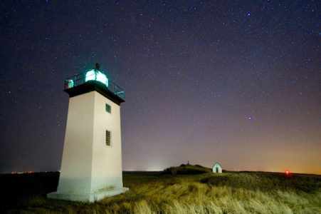 Lighthouses at Night - Fred Elser First Sunday Science Series at the Seaside Center