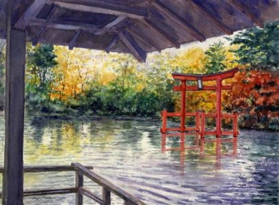 Exhibition 'A Journey in Art Landscapes' by Kazumasa Oda - Les Beaux Arts Gallery - Through June 29