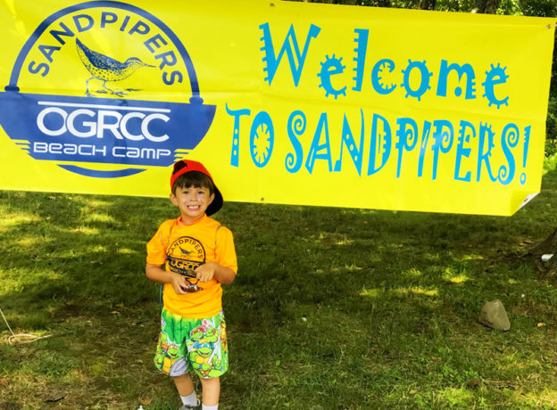 CONTEST WINNER ANNOUNCEMENT: $475 OGRCC Sandpipers Beach Camp Tuition Scholarship