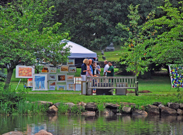 Photo Gallery: Inaugural Art in the Park Event - Binney Park, Greenwich