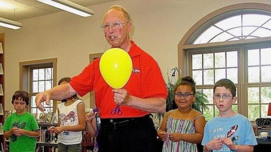 Magic Show for Toddlers with Mr. Magic - Byram Shubert Library