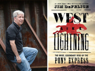 AuthorsLive: 'West Like Lightning' by Jim DeFelice - Greenwich Library