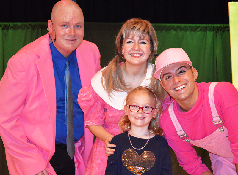 Pinkalicious Draws Record-Breaking Crowds to the Junior League of Greenwich's Children's Theater Series