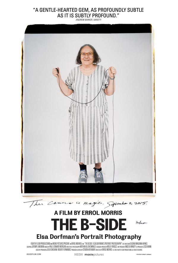 Friends Friday Film - The B-Side - Elsa Dorfman's Portrait Photography - Greenwich Library