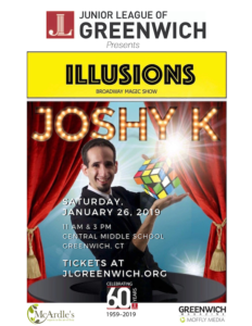 Illusions Broadway Magic Show - Sponsored by Junior League of Greenwich - Shows at 11am and 3pm