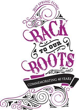 2019 Spring Fling 'Back to our Boots: Commemorating 40 Years' to Benefit Kids in Crisis