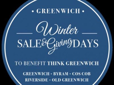 Greenwich Winter Sale and Giving Days to Benefit Think Greenwich - Downtown Greenwich, Byram, Cos Cob, Riverside and Old Greenwich