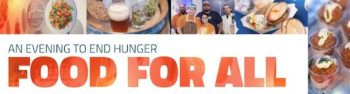 Food For All - An Event to End Hunger and Food Waste
