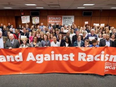 Greenwich YWCA's Stand Against Racism - Greenwich Town Hall