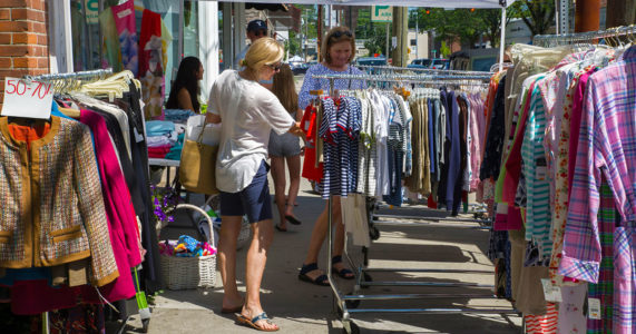 Old Greenwich Sidewalk Sales - June 27 - 29