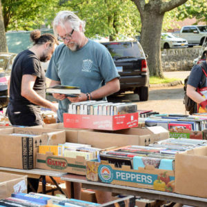 Friends of Byram Shubert Library Book Sale