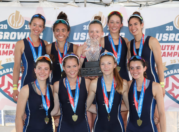 They Did it Again!!! Greenwich Crew Women's Youth Lightweight 8+ Wins Gold Medal and 2nd Consecutive National Title at US Rowing Youth National Championships
