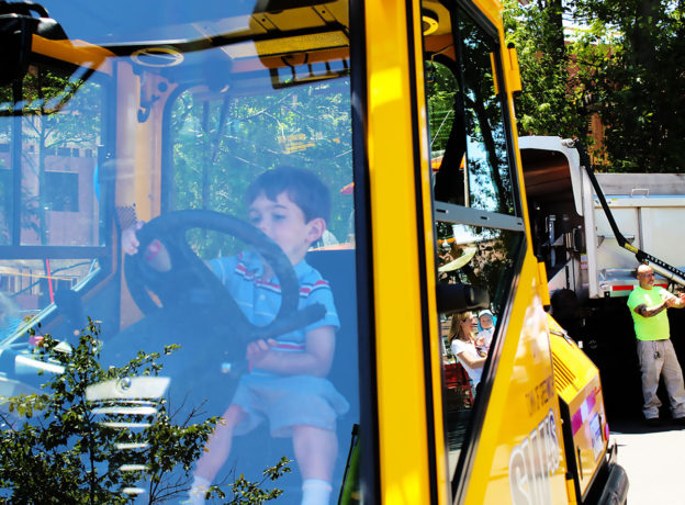 PHOTO GALLERY: Powerful Vehicles, Happy Children, and LOTS of Bubbles at the 17th Annual Touch a Truck