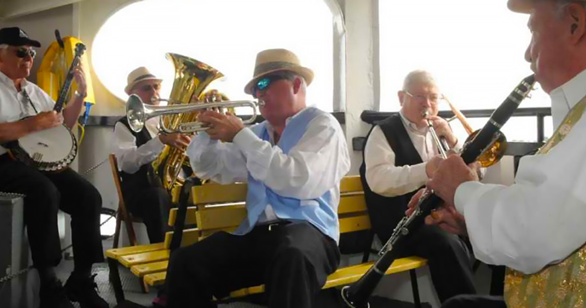 Dixieland Jazz Band Concert on the Sound