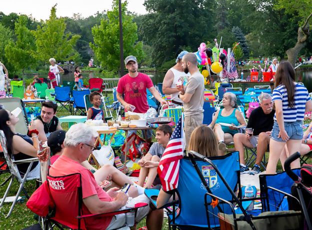Photo Gallery: Independence Day Fireworks 2019 - Binney Park, Greenwich