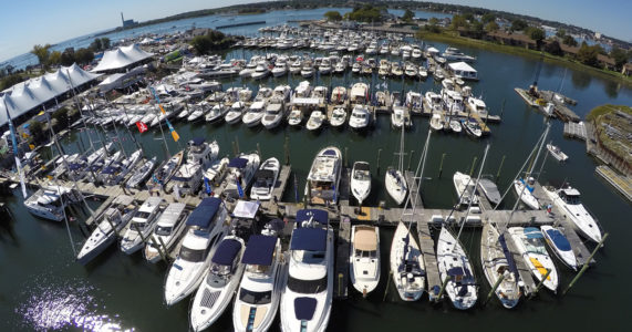 Norwalk Boat Show - Calf Pasture Beach - September 19 - 22
