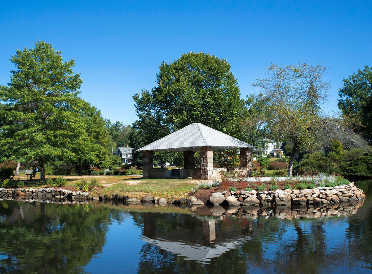 Improvements at Binney Park   An Interview with Peter Grunow, Owner of Gro Pro Landscaping
