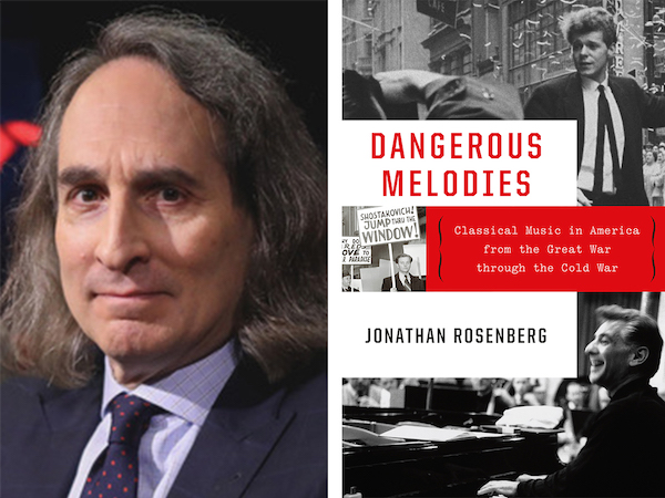 Music Author Talk - 'Dangerous Melodies' by Jonathan Rosenberg - Greenwich Library