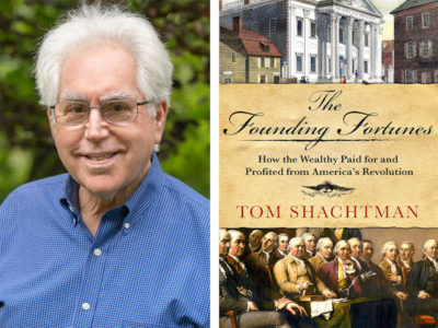 AuthorsLive with Tom Shachtman at Retired Men's Association - Greenwich Library