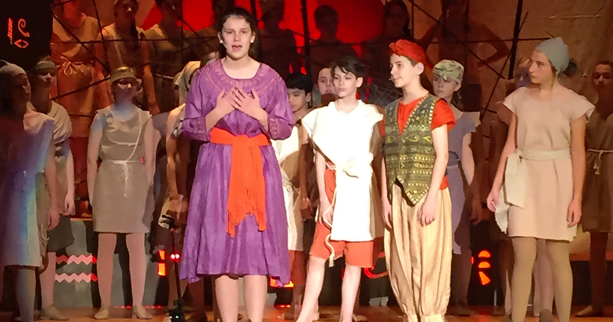 Aida - Presented by the Eastern Middle School Show Chorus
