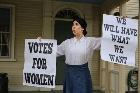 Susan B. Anthony - A One-Woman Show - Greenwich Library