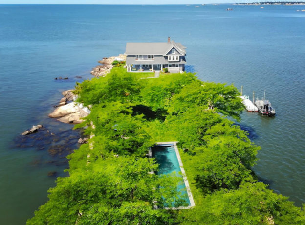 Real Estate: Potato Island, Private Retreat in the Thimble Islands