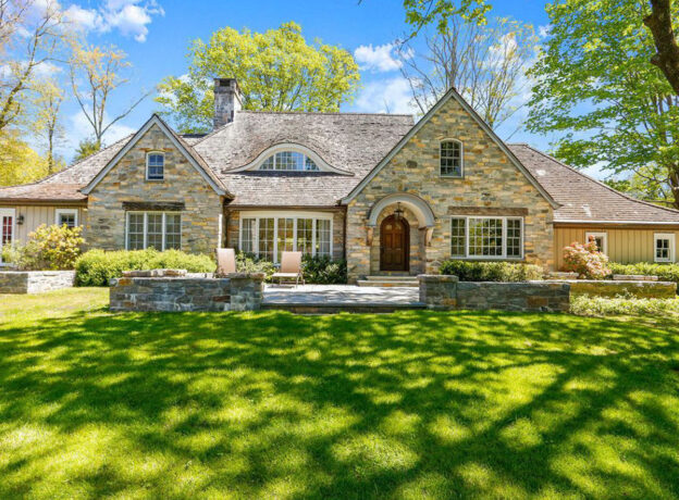 Greenwich Real Estate: Beautifully Refreshed Mid-Country Stone Residence