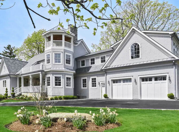 REAL ESTATE: Custom-Built Shore Colonial In An Exclusive Greenwich Coastline Community